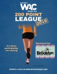 WAC 200 Point League 2018 Poster